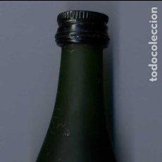 Botellas antiguas: ANTIGUO BOTELLIN DE COGÑAC FINO CHAMPANGNE - A.HARDY - DE 3 CL - MIDE 103 MILIMETROS - Nº18. Lote 74147927