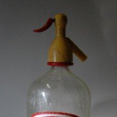 Botellas antiguas: SIFÓN LA MONTAÑESA ANDRÉS OTERO DE SANTIAGO. Lote 74489687