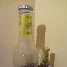 Botellas antiguas: BOTELLA GIGANTE PUBLICIDAD REFRESCO TONICA SCHWEPPES PREMIUM MIXER.. Lote 75261531
