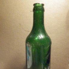 Botellas antiguas: MUY ANTIGUA BOTELLA DE CRISTAL - AGUA DE CARABAÑA - . Lote 76414515