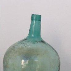 Botellas antiguas: ANTIGUA BOTELLA GARRAFA GARRAFON DAMAJUANA DE 20 LITROS. UTILIZADA PARA EL VINO Y EL ACEITE DE OLIVA. Lote 77903937
