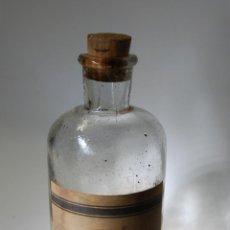 Botellas antiguas: FRASCO DE FARMACIA YODOTANICO FOSFATADO LABORATORIOS ICAPE BARCELONA. Lote 78287905