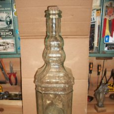 Botellas antiguas: ANTIGUA BOTELLA CON GRIFO PARA AGUARDIENTE. Lote 78474905