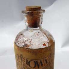 Botellas antiguas: FRASCO DE FARMACIA FLUIDO DE HAMAMELIS // CON CONTENIDO. Lote 80303809