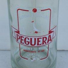 Botellas antiguas: SIFÓN PEGUERA DE BADALONA.. Lote 76394867