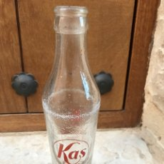 Botellas antiguas: BOTELLA ANTIGUA KAS. Lote 85332200