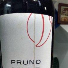 Botellas antiguas: RIBERA DEL DUERO, PRUNO, BOTELLA DE 3 LITROS VACÌA, 46 CM DE ALTO. Lote 86057588