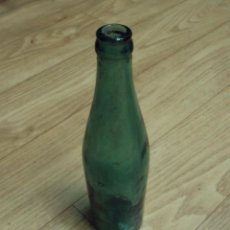 Botellas antiguas: BOTELLA DE VIDRIO SOPLADO. Lote 86093716