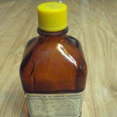 Botellas antiguas: BOTELLA DE CLORURO SÓDICO. Lote 86098080