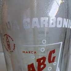 Botellas antiguas: SIFÓN ABC INDUSTRIAL CARBONICA EBRO.. Lote 87039652