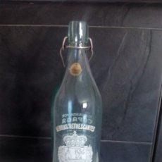 Botellas antiguas: GASEOSA FONTE ROCA XINZO PONTEAREAS 1 L. Lote 87148275