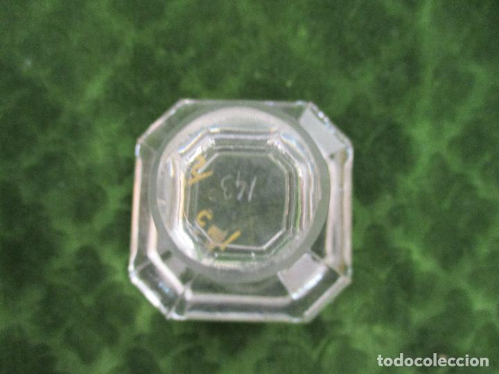 Botellas antiguas: Antigua Botella Licorera - Licor - Cristal - con Ribetes Dorados - Principios S. XX - Foto 8 - 89664704