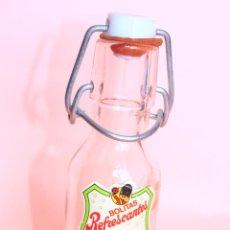 Botellas antiguas: PEQUEÑA BOTELLA DULCIORA DE 13'50 CM.. Lote 89832724