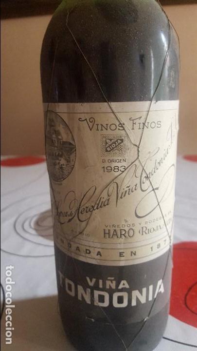 Botellas antiguas: DOS BOTELLAS DE VINO ANTIGUAS - Foto 3 - 91638030