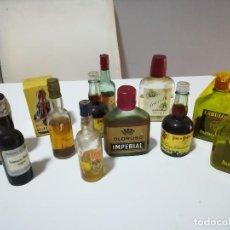 Botellas antiguas: LOTE DE BOTELLINES ANTIGUOS.. Lote 91686810