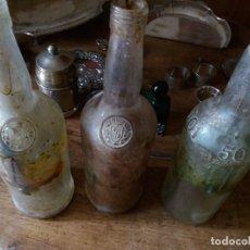 Botellas antiguas: BOTELLAS DE VINO. Lote 93898300