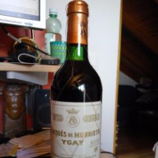Botellas antiguas: RIOJA MARQUÉS DE MURRIETA - GRAN RESERVA 1983. Lote 95803303
