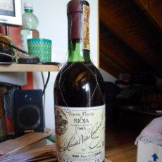 Botellas antiguas: RIOJA VIÑA TONDONIA - RESERVA 1985. Lote 95803463