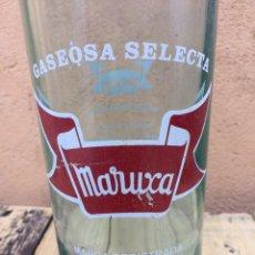 Botellas antiguas: BOTELLA GASEOSA MARUXA. Lote 96136590