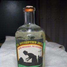 Botellas antiguas: ANTISEPTICO LYSOFORM, VIGO MUY BIEN CONSERVADO Y COMPLETO CIRCA 1920,S. Lote 96726115