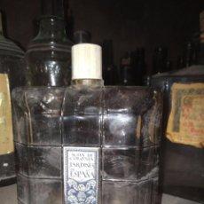 Botellas antiguas: BOTELLA COLONIA JARDINES ESPAÑA DE GAL. Lote 97880099