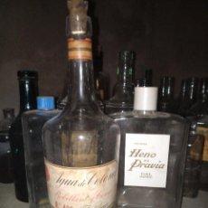 Botellas antiguas: BOTELLA PERFUMERÍA J ROBILLARD Y CA VALENCIA. Lote 97880203