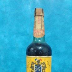 Botellas antiguas: BOTELLA VINO QUINADO CELUM RECONSTITUYENTE ALCAZAR SAN JUAN CIUDAD REAL. Lote 98955511