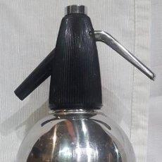 Botellas antiguas: SIFÓN DE ACERO INOXIDABLE ANFA. Lote 99031707