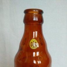 Botellas antiguas: BOTELLA DE CERVEZA EL AGUILA 33 CC.. Lote 99647507
