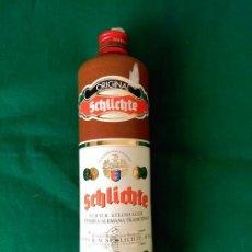 Botellas antiguas: BOTELLA DE CERAMICA DE GINEBRA ALEMANA SCHLICHTE (VACIA) . Lote 100038115