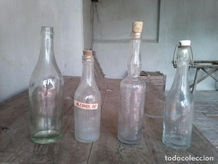botellas de vidrio antiguas aos 1950 Comprar Botellas antiguas
