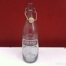 Botellas antiguas: BOTELLA DE GASEOSA (NIETO) POYO. PONTEVEDRA. Lote 100947751