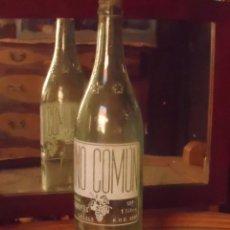 Botellas antiguas: BOTELLA VINO COMUN CANALS VALENCIA BODEGA LA GARROFERA 1 LITRO. Lote 101169387