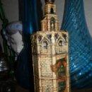 Botellas antiguas: ANIS EL MICALET, J.PESUDO ESCUDER,VILLARREAL-CASTELLON.DESTILERIAS NAPHA. 26 CMS.. Lote 101695899