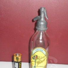 Botellas antiguas: SIFON DE PERFUME ** PERFUMES VOLART - BARCELONA**. Lote 104007267