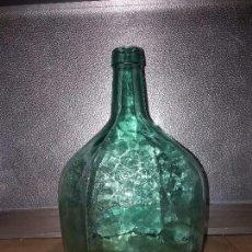 Botellas antiguas: ANTIGUA BOTELLA DE 8 LITROS GARRAFA DAMAJUANA DE CRISTAL. Lote 105383259