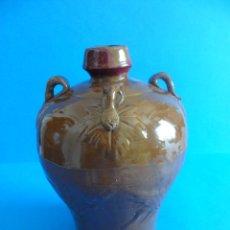 Botellas antiguas: BOTELLA DE CERÁMICA DE LICOR DE ARROZ CHINO - VACÍA - MADE IN CHINA. Lote 108074871
