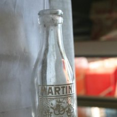Botellas antiguas: MARTINI *** ANTIGUA BOTELLA CRISTAL SERIGRAFIA EN BLANCO ***. Lote 110017115
