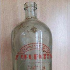 Botellas antiguas: SIFON SERIGRADIADO CIFUENTES ALMANSA ALBACETE. Lote 110676427