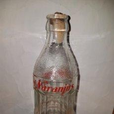 Botellas antiguas: BOTELLA TRINARANJUS SERIGRAFIA. Lote 112798338