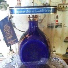 Botellas antiguas: BOTELLA DE CERÁMICA DIMPLE. Lote 113330379