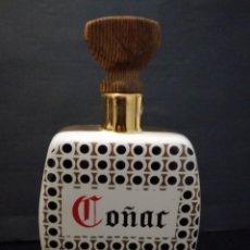 Botellas antiguas: ANTIGUA BOTELLA DE COÑAC BRANDY PORCELANA CERÁMICA. Lote 114222255