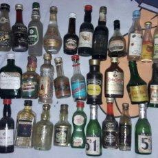 Botellas antiguas: ANTIGUAS BOTELLITAS EN MINIATURA PARA RESTAURAR. Lote 114478798