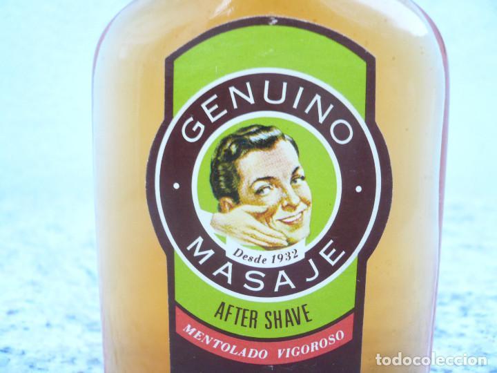 Botellas antiguas: FLOÏD GENUINO MASAJE. BOTELLA DE LOCIÓN AFTER SHAVE. LLENA, 75 ML. TAPÓN DE BAQUELITA - Foto 5 - 122037131