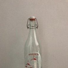 Botellas antiguas: BOTELLA GASEOSA LA MEQUERA, 1 LITRO.. Lote 118071311