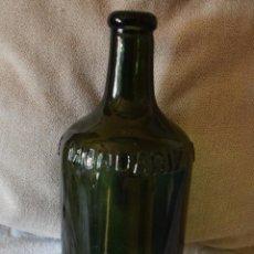 Botellas antiguas: ANTIGUA BOTELLA AGUAS DE MONDARIZ V.H.P 70 CL LETRAS RELIEVE. Lote 159151017