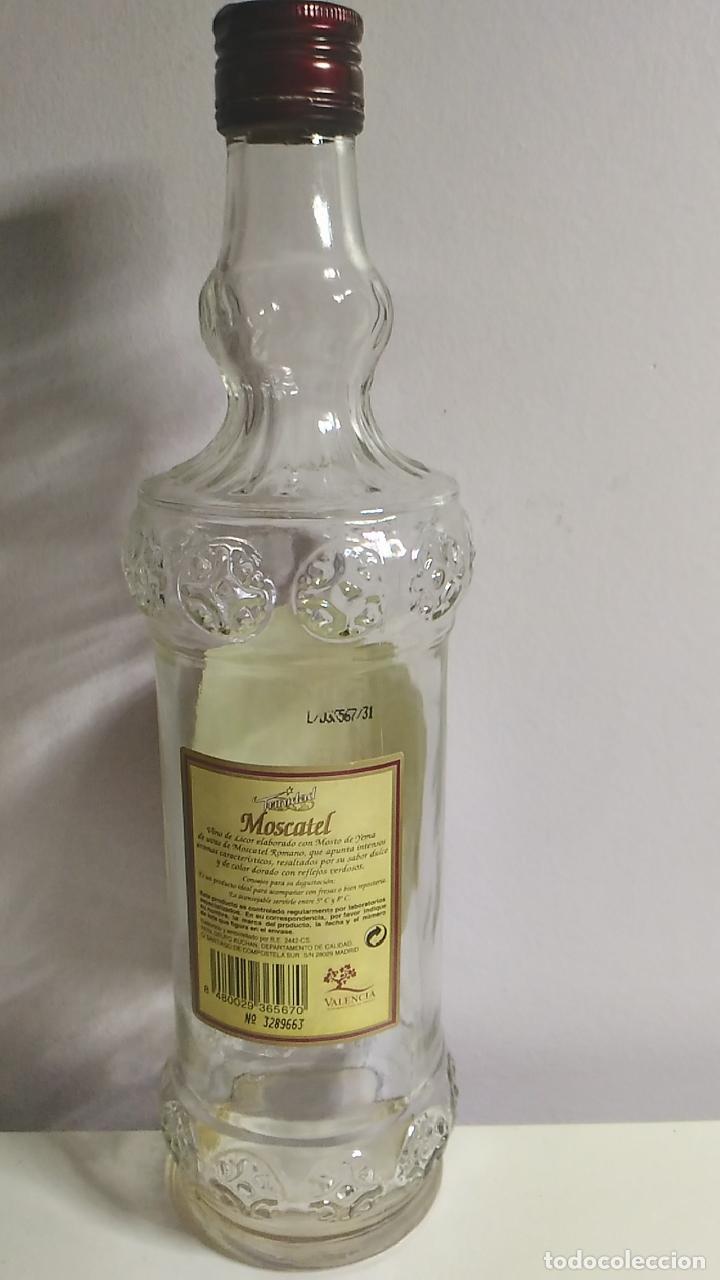 Botellas antiguas: BOTELLA ANTIGUA DE MOSCATEL. TRINIDAD. VALENCIA. 75 CL - Foto 3 - 120091247