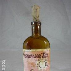 Botellas antiguas: RENOVADOR SEX - ESPECIAL PARA MUEBLES - 17,20PTAS. Lote 120465295