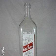 Botellas antiguas: BOTELLA ACEITES VIDAL ROYO - 1L - VALENCIA. Lote 121275099