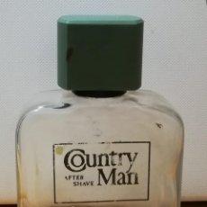 Botellas antiguas: ANTUGUA BOTELLA AFTER SHAVE COUNTRY MAN LOCION AFEITADO. Lote 121289859